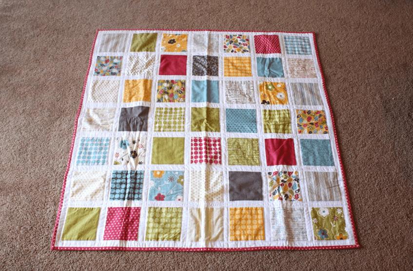 Tutorial para hacer un quilt de patchwork