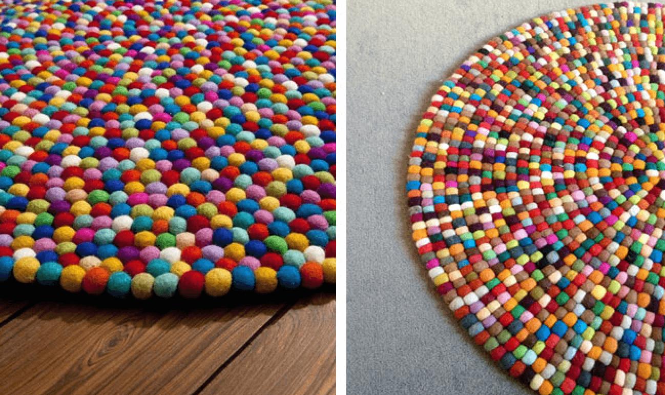 Tutorial para hacer bolitas de lana.