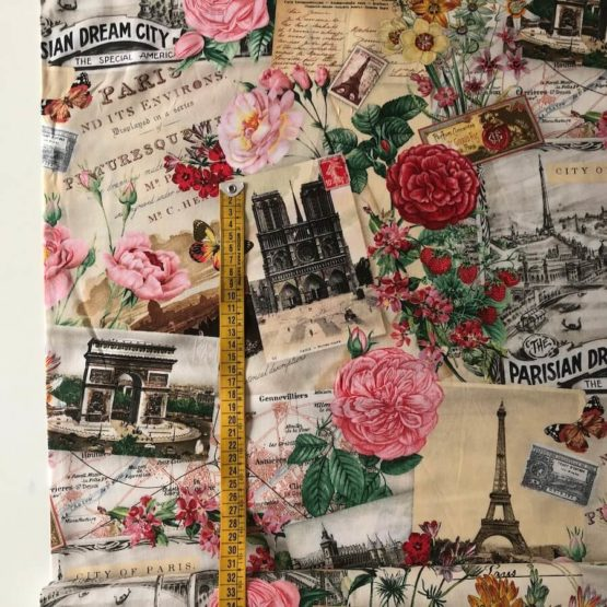 tela postales París