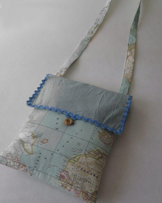 lucia castaño-bolso bandolera mapa mundi-tienda telas on line-telas online