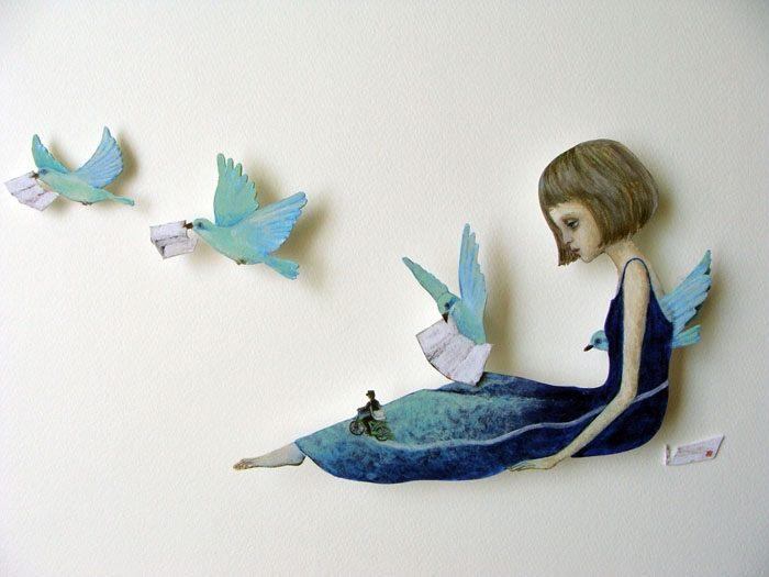 Maravillosas ilustraciones de Maki Hino