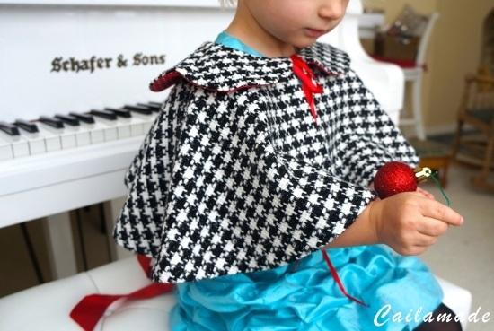 Cómo hacer una capa de niña
