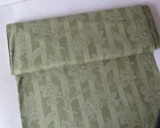 tela estampada verde aroa