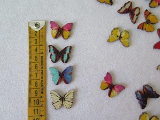 botones mariposa