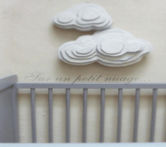 NUBES DE CARTÓN PARA DECORAR HABITACIONES INFANTILES