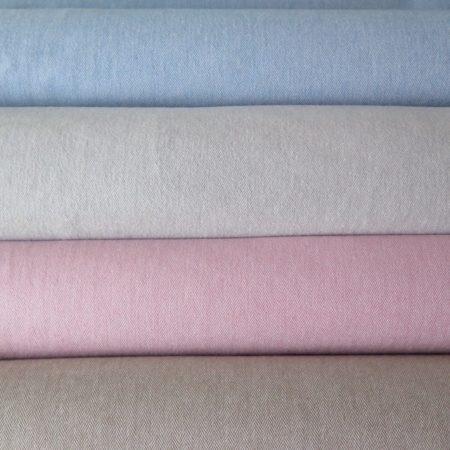 tela algodón tweed de espigas