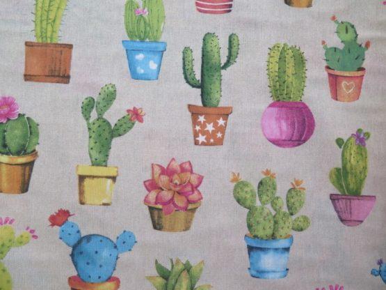tela estampada cactus