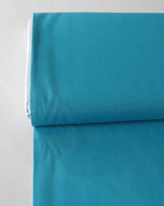 tela lino turquesa