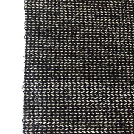tela paño fino negro y blanco