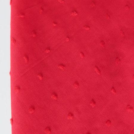 tela plumeti rojo
