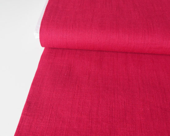 tela lino rojo
