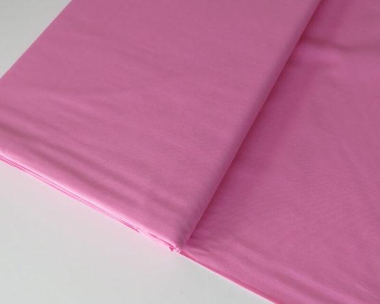 tela popelín algodón rosa