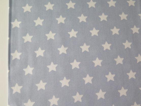 tela estampada estrellas celeste