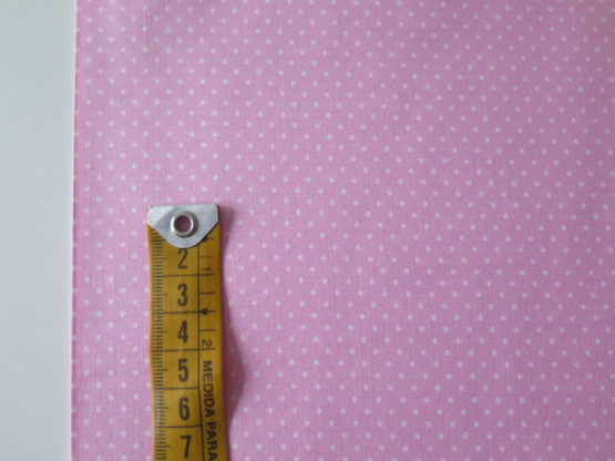 tela infantil topos rosa