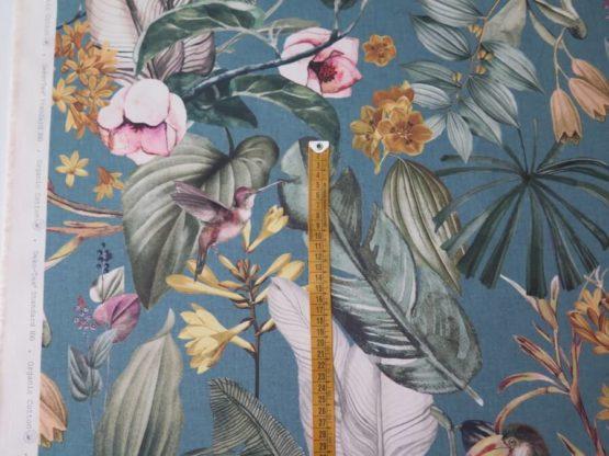 tela loneta estampada jungla