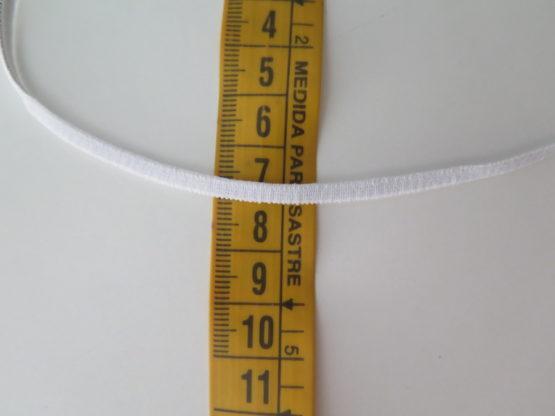 cinta goma blanca 4mm