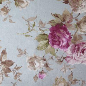 tela estampada de flores