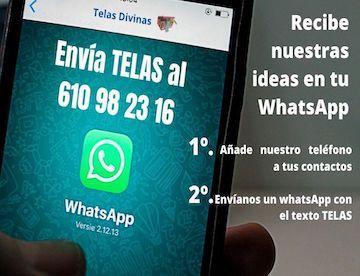 ideas de telas divinas por whatsapp