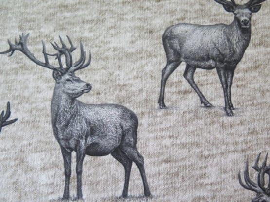 tela tapiceria ciervos