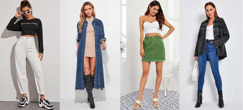 tips de moda: diferentes formas de llevar denim esta temporada