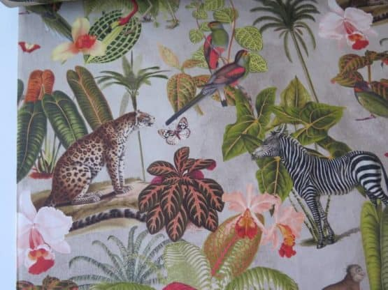 tela tapiceria selva