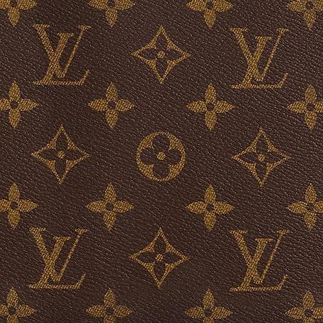monograma de la marca louis vuitton
