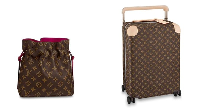 Bolsa Noé y Maleta Horizon 55 de Louis Vuitton