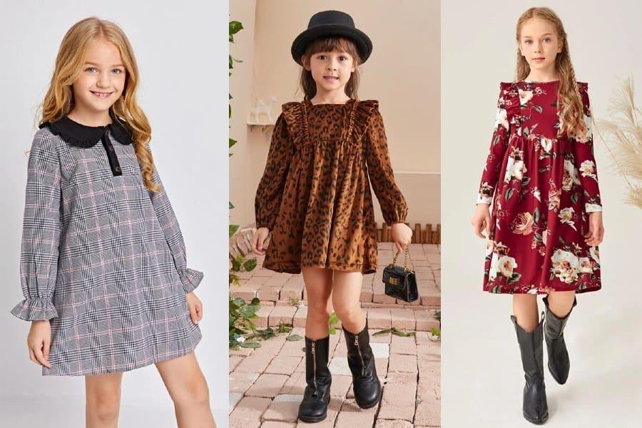 Vestidos de niñas que son tendencia
