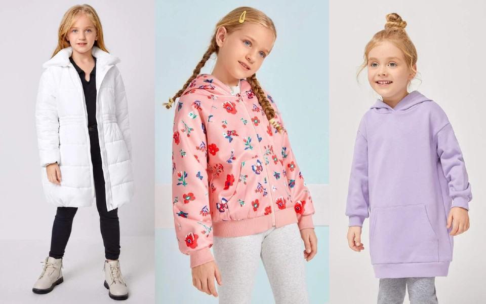 Chaquetas y abrigos para niñas