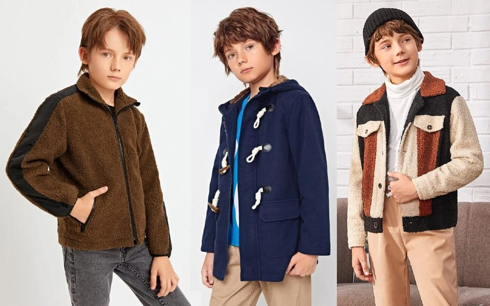 Chaquetas y abrigos para niños