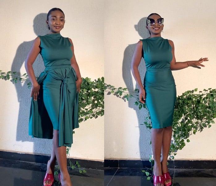 El fabuloso vestido verde 4 en 1