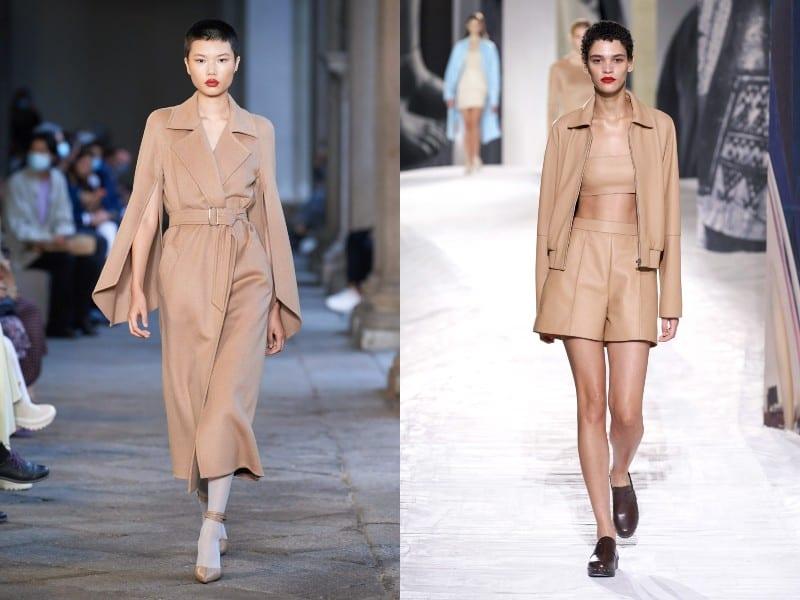 Total Look: cómo combinar el color beige y el color camel, en ropa de mujer