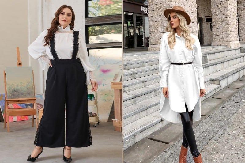 Blanco y negro en diferentes estilos