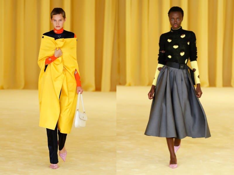 amarillo y gris los colores del año 2021