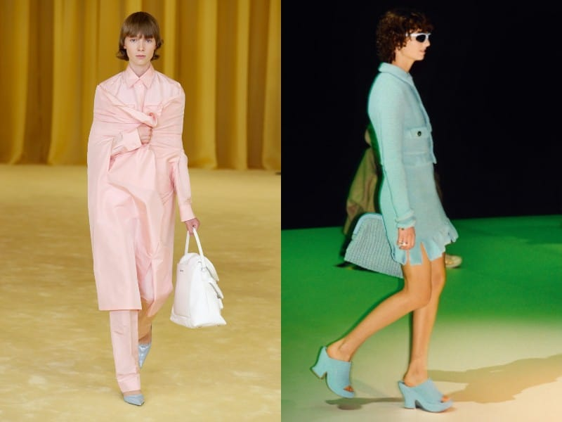 colores pasteles de moda en la primavera verano 2021