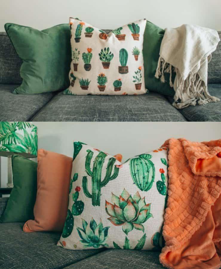 textiles con motivos de naturaleza