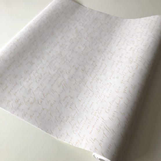 papel pintado letras