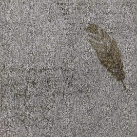 Papel pintado plumas