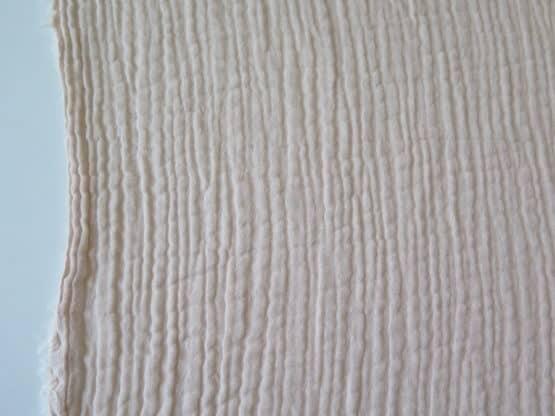 Tela bámbula algodón beige
