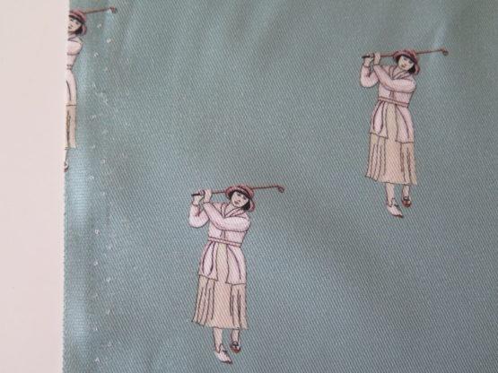 tela viyela golf azul