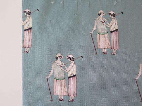 tela viyela vintage golf