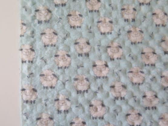 tela coralina ovejas mini