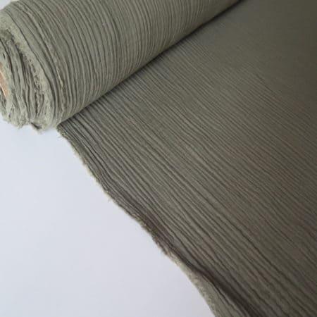 tela bámbula algodón olivatela bámbula algodón oliva